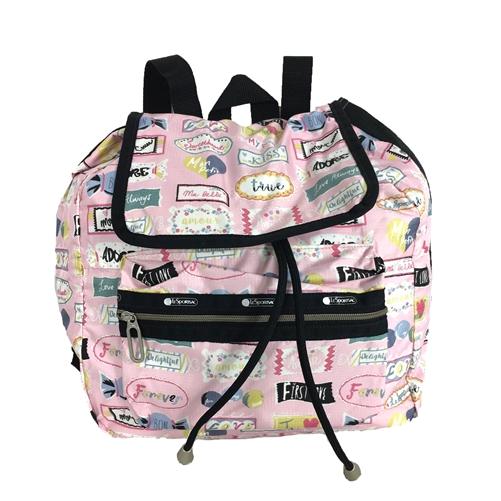 lesportsac essential mini voyager backpack sweet talk pink. Black Bedroom Furniture Sets. Home Design Ideas