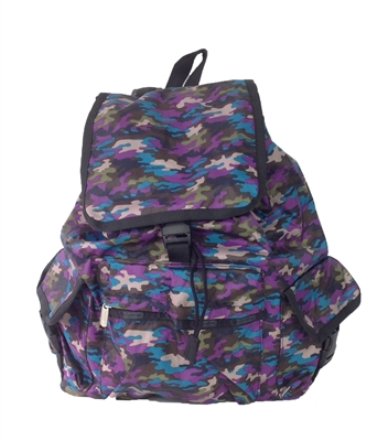 lesportsac voyager backpack contempo camo. Black Bedroom Furniture Sets. Home Design Ideas