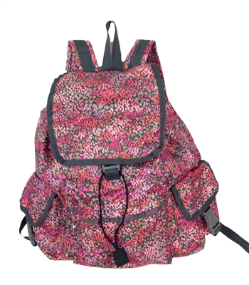 Lesportsac Voyager Backpack Lavender Fields
