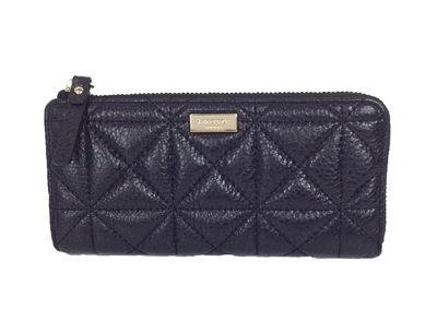 Kate Spade Whitaker Place Nisha Quilted Leather Zip Around