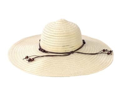 51c90e4c Magid Floppy Semi Sheer Paper Straw Sun Hat, Natural